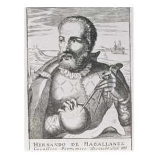 Portrait of Hernando de Magallanes Postcard