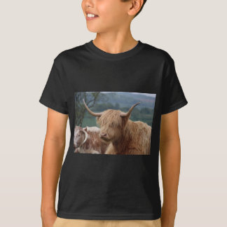 portrait of Highland Cattle T-Shirt