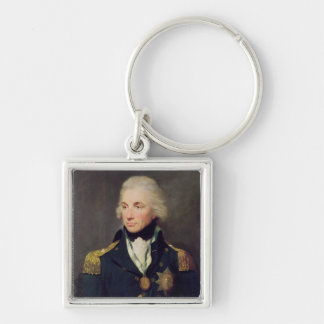 Portrait of Horatio Nelson , Viscount Nelson Key Ring