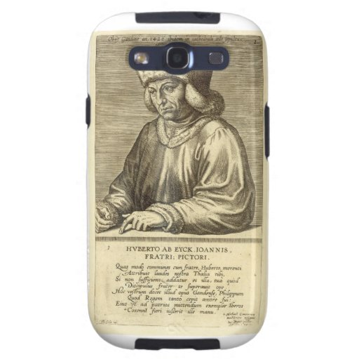 Portrait of Hubert van Eyck (1366-1426) plate 1 fr Galaxy SIII Case