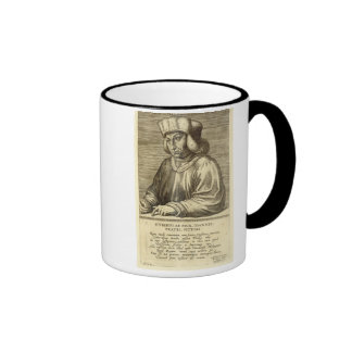 Portrait of Hubert van Eyck (1366-1426) plate 1 fr Ringer Mug
