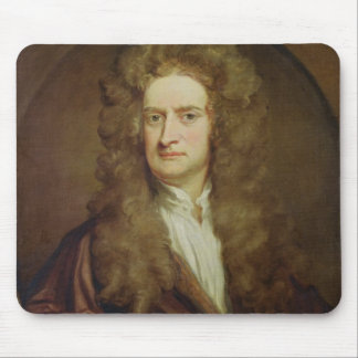 Portrait of Isaac Newton  1702 Mouse Pad