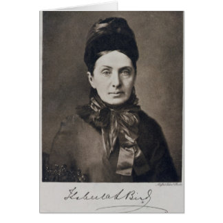 Portrait of Isabella Bird Bishop Card