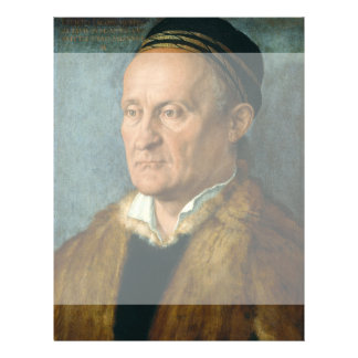 Portrait of Jacob Muffel by Albrecht Durer Custom Flyer
