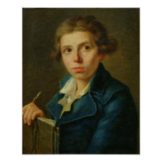 Portrait of Jacques-Louis David  as a Youth Posters