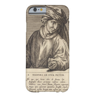 Portrait of Jan van Eyck (c.1390-1441) plate 2 in Barely There iPhone 6 Case