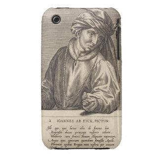 Portrait of Jan van Eyck (c.1390-1441) plate 2 in Case-Mate iPhone 3 Case