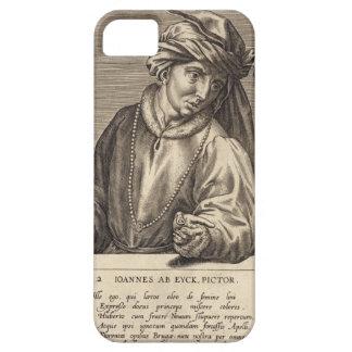 Portrait of Jan van Eyck (c.1390-1441) plate 2 in iPhone 5 Covers