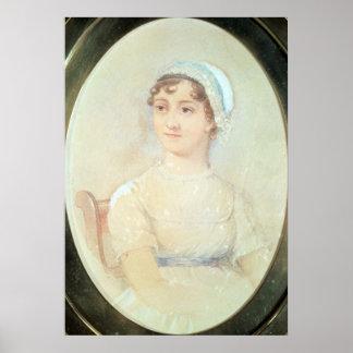 Portrait of Jane Austen Poster