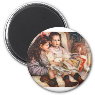 Portrait of Jean and Genevieve Caillel Magnet