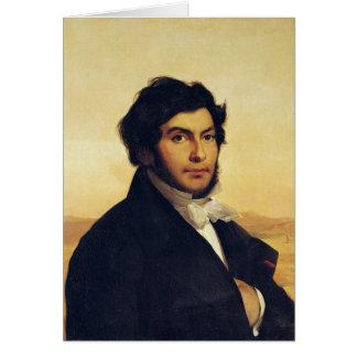 Portrait of Jean-Francois Champollion  1831 Card
