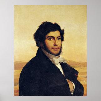 Portrait of Jean-Francois Champollion  1831 Poster