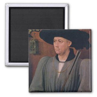 Portrait of Jean Lefevre de Saint-Remy Magnet