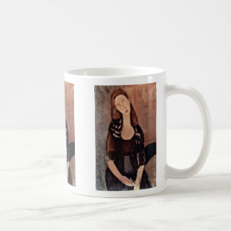 Portrait Of Jeanne Hébuterne By Modigliani Amedeo Coffee Mug