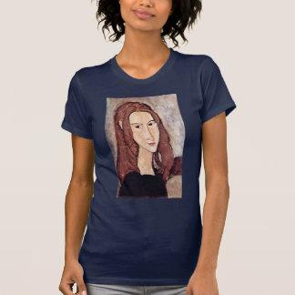 Portrait Of Jeanne Hébuterne Head In Profile Shirt