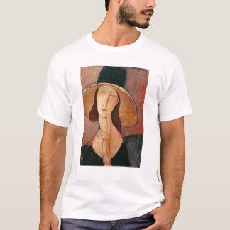 Portrait of Jeanne Hebuterne in a large hat T-Shirt