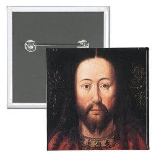 Portrait of Jesus Christ by Jan van Eyck Pin