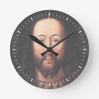 Portrait of Jesus Christ by Jan van Eyck Clocks