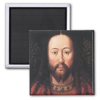 Portrait of Jesus Christ by Jan van Eyck Refrigerator Magnet