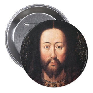Portrait of Jesus Christ by Jan van Eyck Pins
