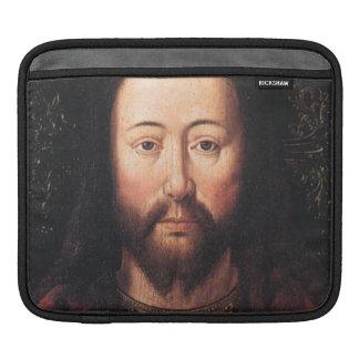 Portrait of Jesus Christ by Jan van Eyck Sleeves For iPads