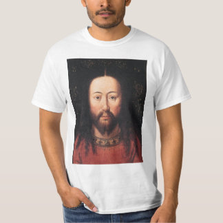 Portrait of Jesus Christ by Jan van Eyck Tee Shirt