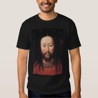 Portrait of Jesus Christ by Jan van Eyck Tshirts