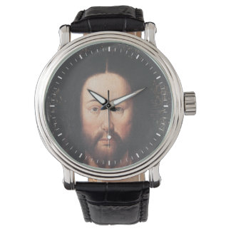Portrait of Jesus Christ by Jan van Eyck Wristwatch