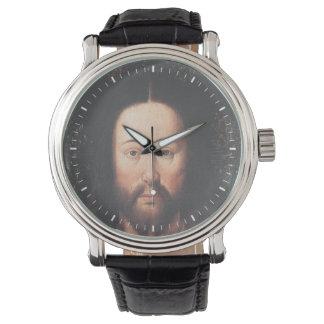 Portrait of Jesus Christ by Jan van Eyck Wristwatch