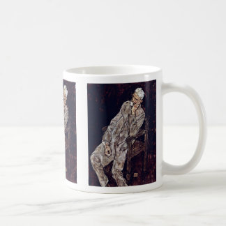 Portrait Of Johann Harms By Schiele Egon Coffee Mug