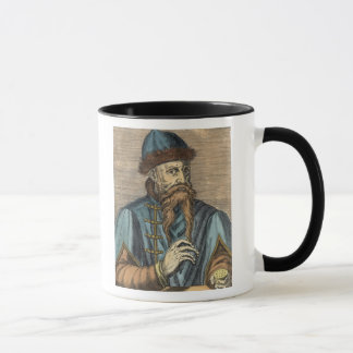 Portrait of Johannes Gutenberg 2 Mug