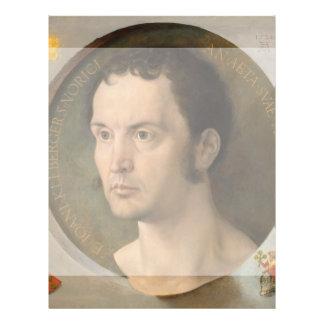 Portrait of Johannes Kleberger by Durer 21.5 Cm X 28 Cm Flyer