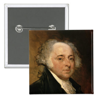 Portrait of John Adams Pins