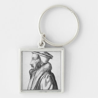 Portrait of John Calvin  aged 53, 1564 Key Ring
