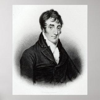 Portrait of John Clare Poster