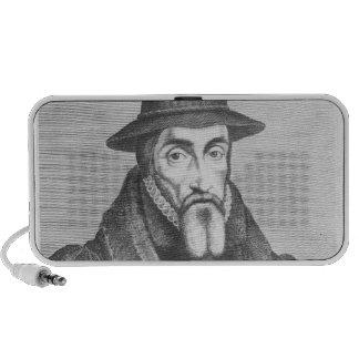 Portrait of John Foxe  English martyrologist Mp3 Speaker