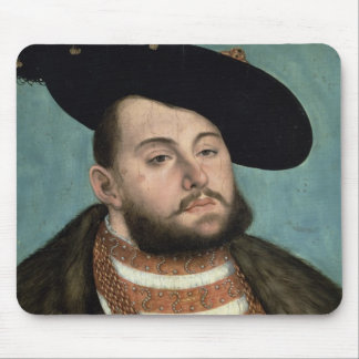 Portrait of John Frederick the Magnanimous (1503-5 Mouse Pad