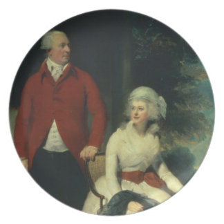 Portrait of John Julius Angerstein (1735-1823) and Party Plate