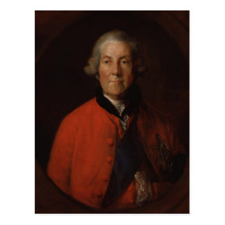 Portrait of John Russell by Thomas Gainsborough Postcard