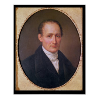 Portrait of Joseph Nicephore Niepce  1854 Poster