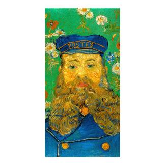 Portrait of Joseph Roulin by Vincent Van Gogh Personalized Photo Card