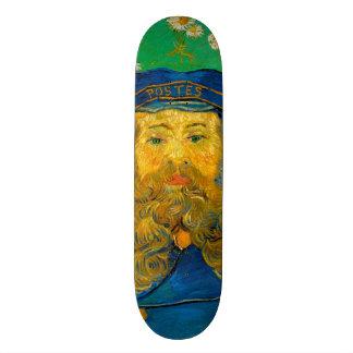 Portrait of Joseph Roulin by Vincent Van Gogh Skate Board Deck