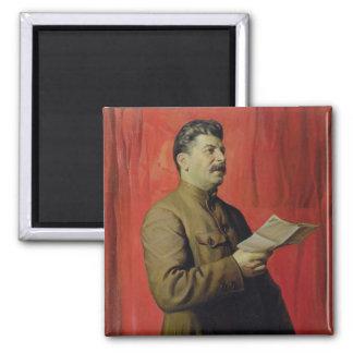 Portrait of Josif Stalin, 1933 Magnet