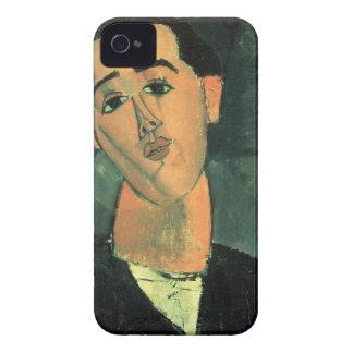 Portrait of Juan Gris (1887-1927) 1915 (oil on can iPhone 4 Case-Mate Case