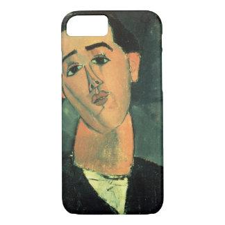 Portrait of Juan Gris (1887-1927) 1915 (oil on can iPhone 7 Case