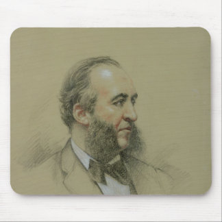 Portrait of Jules Ferry Mouse Pad