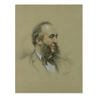 Portrait of Jules Ferry Postcard