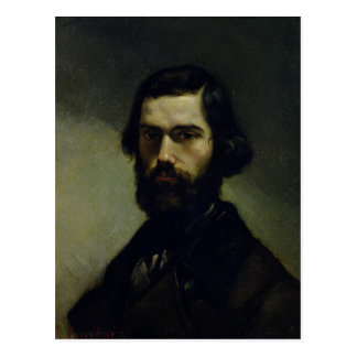 Portrait of Jules Valles  c.1861 Postcard