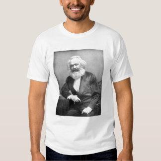Portrait of Karl Marx T Shirts