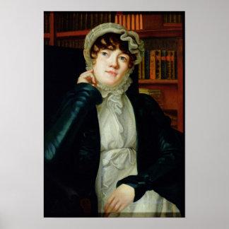 Portrait of Karolina Pavlova, c.1830 Poster